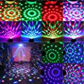 Party Lights Sound Activated Disco Light, 7 Color Effects with Remote Control Dj Lights Stage Light for Festival Bar Club Party Wedding Show Home