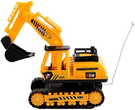 Remote Control Excavator Digger 15 Channel RC 2.4Ghz Battery Powered 1.14 scale