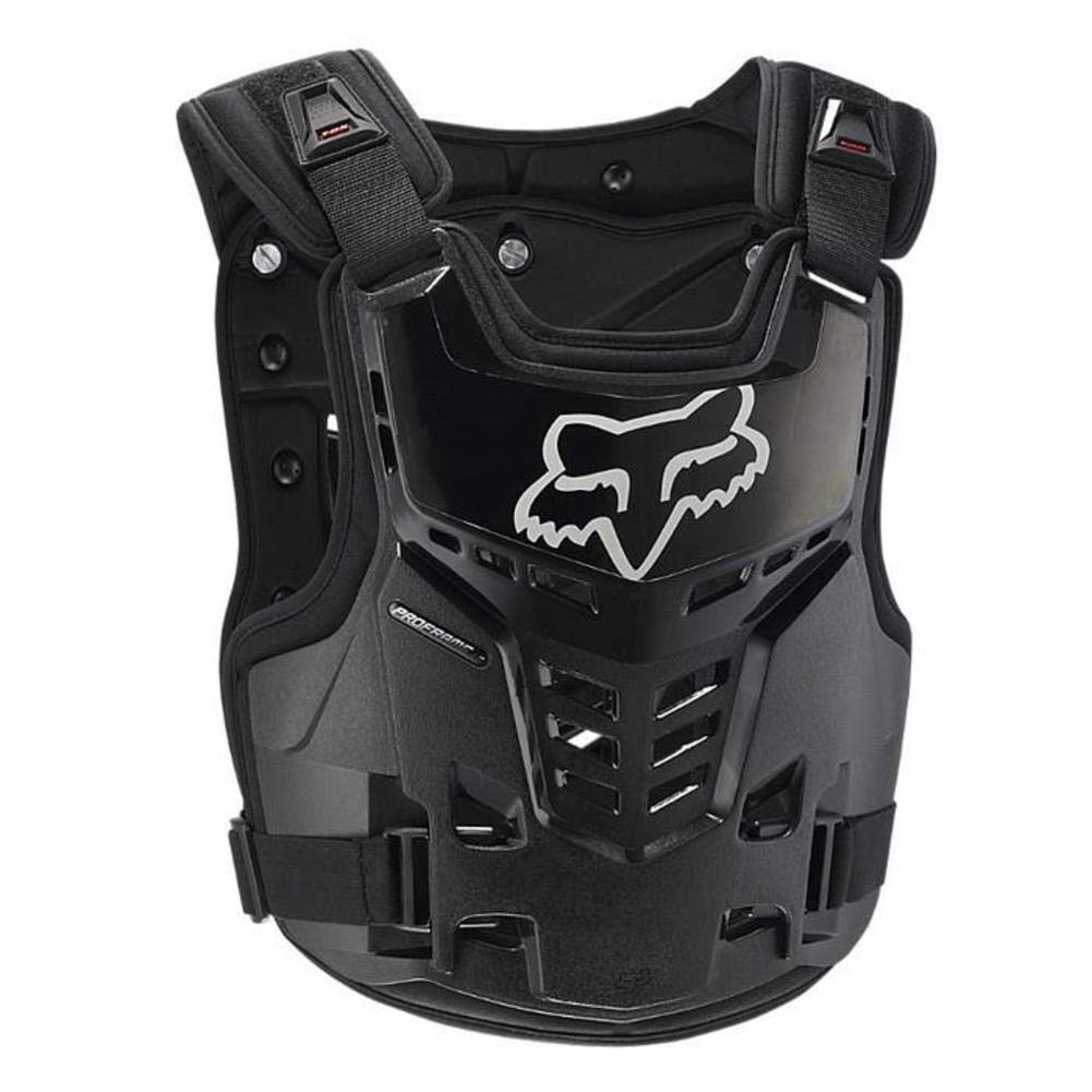 Fox Racing Proframe LC Youth Boys Roost Deflector MotoX Motorcycle Body Armor - Black/One Size 06120-001-OS