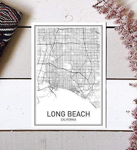 Compare Price: long beach ca map - on StatementsLtd.com