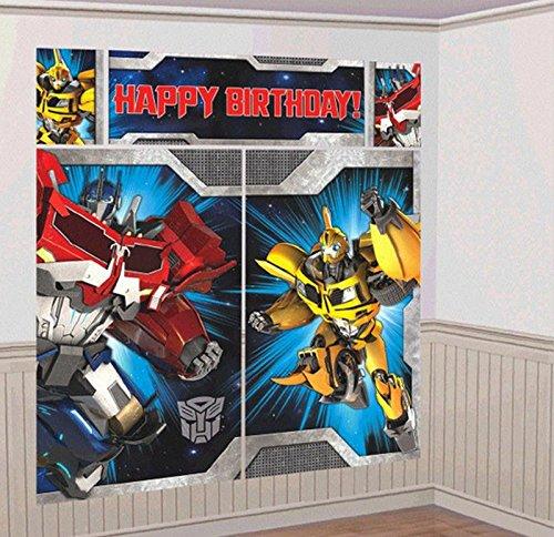 Transformers Scene Setter Wall Decorating Kit (5 piece)