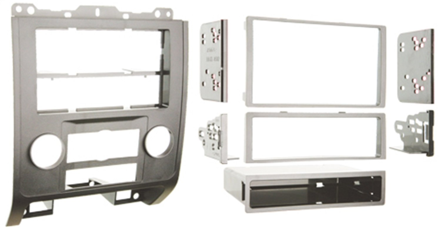 Metra 99-5814S Single or Double DIN Installation Dash Kit for 2008-up Ford Escape, Mercury Mariner, and Mazda Tribute (Silver) Metra Electronics Corporation