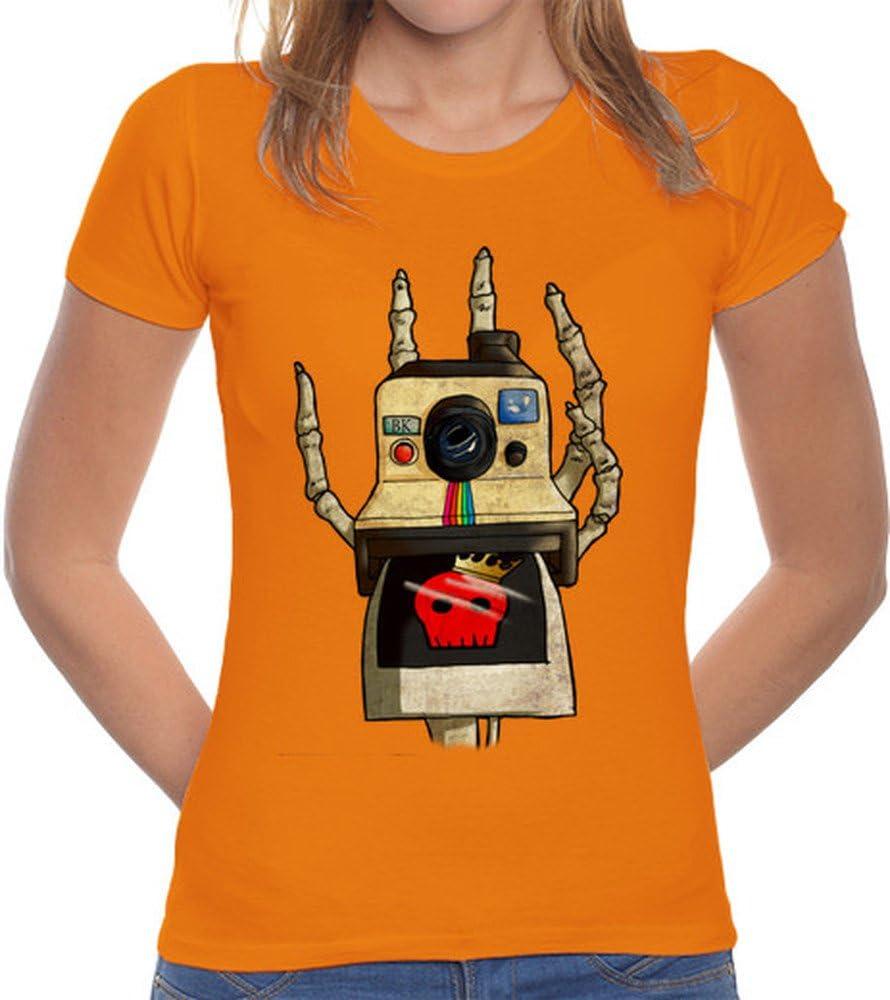 latostadora Camiseta Retro Polaroid - Camiseta Mujer Corte clásico ...
