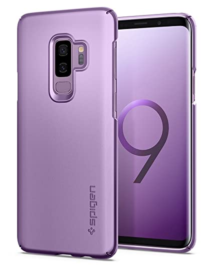 new arrival 85505 e2d00 Spigen Thin Fit Designed for Samsung Galaxy S9 Plus Case (2018) - Lilac  Purple