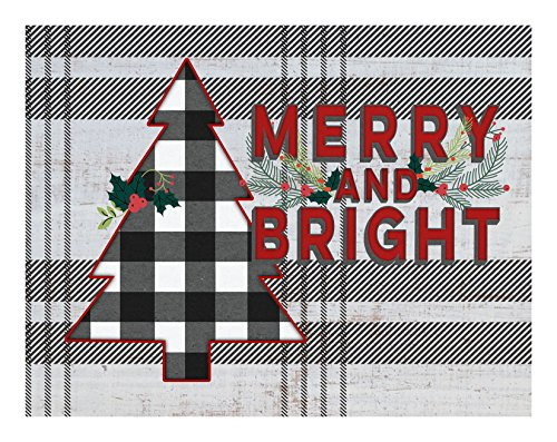 (Kindred Hearts Christmas Merry and Bright Lightbox-Insert, 9 3/4
