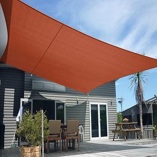 Artpuch - Parasol triangular de 12 x 12 x 12 pulgadas, color gris claro, bloque UV para refugio, toldo, patio, jardín, instalaciones al aire libre (2 unidades): Amazon.es: Jardín