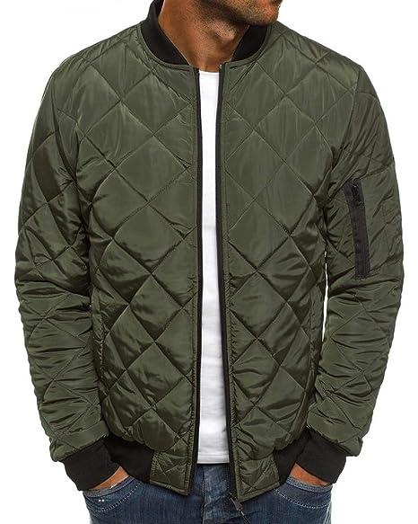 Mens Bomber Jacket Varsity Quilted Lightweight Flight Jackets Casual Softshell Windbreaker Slim Fit Fall Winter Coats
