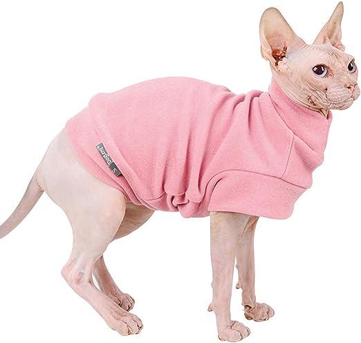 Dociote Jersey para Perro Pequeño- Ropa para Perros y Gato Chaleco Suéter para Invierno para Perro Mascotas pequeño y medianos L Rosa: Amazon.es: Productos para mascotas