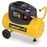 Powerplus 24 Litre, 1.5HP, 6.33CFM, 240v, MWP 116psi, 8BAR Portable Oil Free Air Compressor POWX1725-3 Year Home User Warranty
