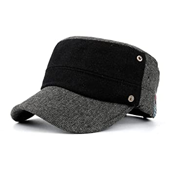 Moda Casual Beanie Hat, Invierno Más Terciopelo Cálido Gorras ...