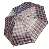 Best Handy Blue Plaid Designer Stylish Rain Sun Summer Umbrella Back to School Gift Idea