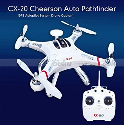 Sangdo CX-20 Auto-Pathfinder RC Quadcopter Drone 2,4 g 4 ch RTF ...