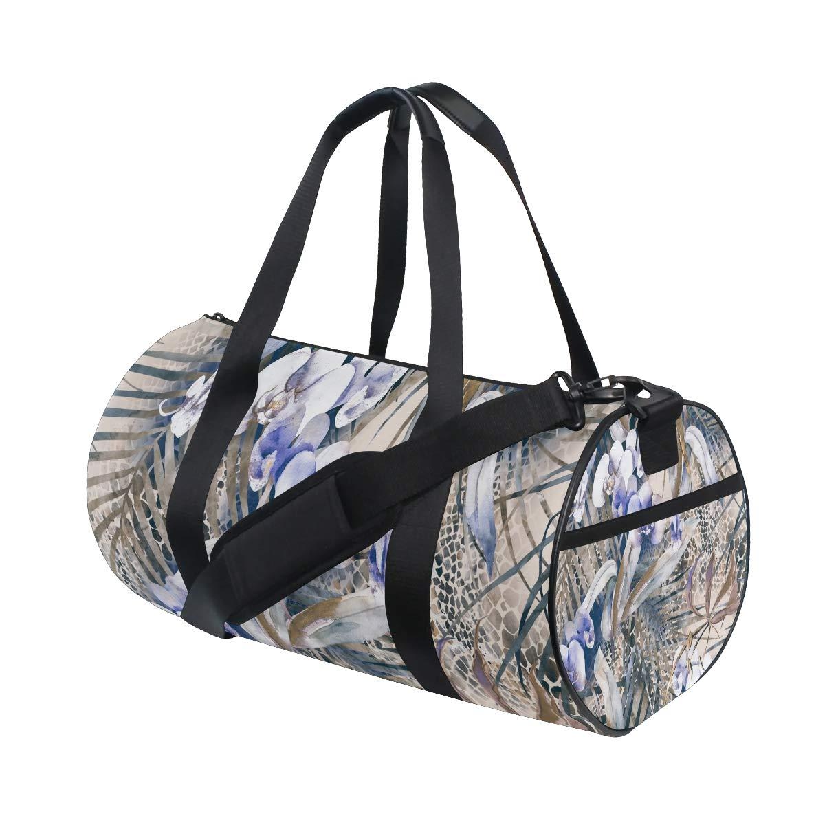 Unisex's Duffel Bag Travel Tote Luggage Bag Gym Sports Luggage Bag