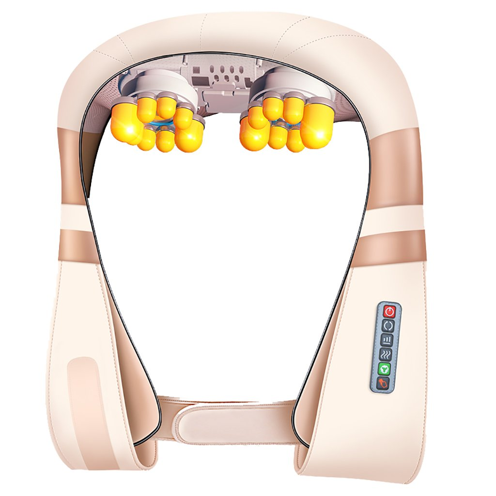 YD ショルダーマッサージ - - 6つのモード指圧背中の首の肩のマッサージ熱の深い組織の混練マッサージの枕のマッサージャーの首、背中 -、肩/&、足、脚 - オフィス、ホーム/& B07NMFMKZY, ニイガタシ:cffef0a2 --- lembahbougenville.com