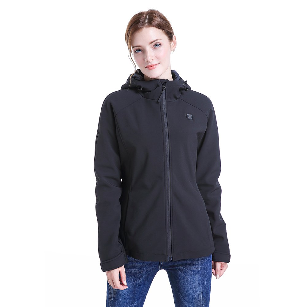 CLIMIX Women's Slim Fit Wireless Heated Jacket Kit with Battery Pack (M) by CLIMIX (Image #2)