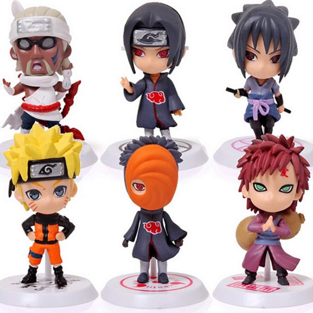 Amazon.com: Juego de 6 piezas de Naruto: Naruto, Sasuke ...