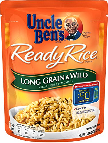 UNCLE BEN'S Ready Rice: Long Grain & Wild (12pk)