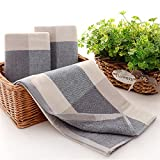 Cotton Towels Elegant Embroidered Bathroom Hand Towels Cleaning Face Hand