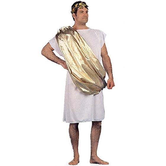 Toga Roman Greek Unisex Adult Halloween Costume (One SIze)  sc 1 st  Amazon.com & Amazon.com: Toga Roman Greek Unisex Adult Halloween Costume (One ...