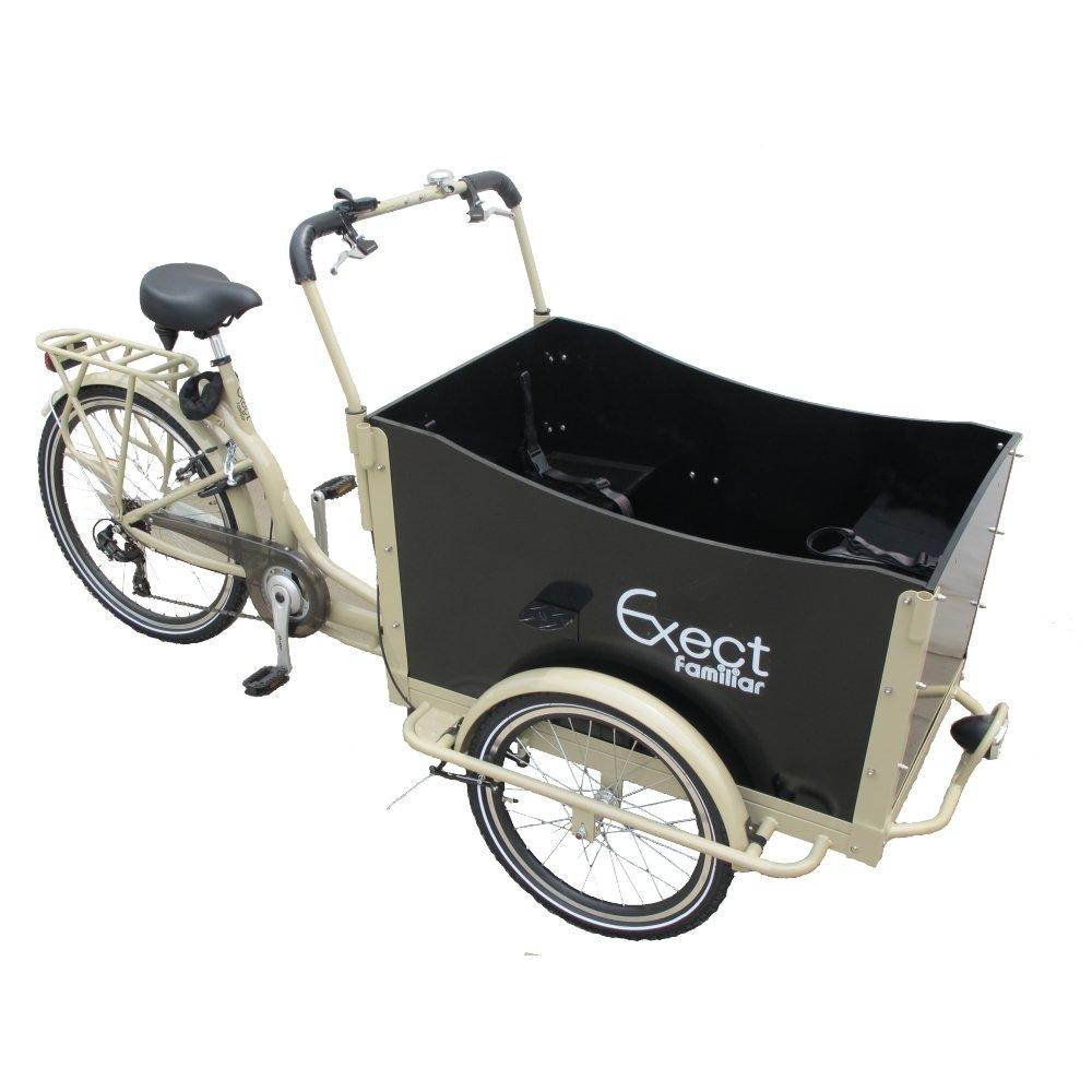 【荷物も多く載せれる3輪自転車】Exect familiar SUV 本格カーゴTrike SIMANO7段変速装備 ☆KIT車体 MOKAFE30 B07DFC6F5G