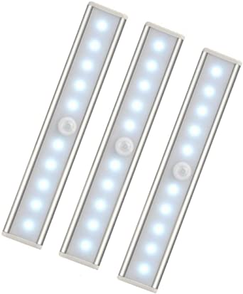 Kleiderschrank 160 LED Bewegungsmelder Schrankbeleuchtung Schranklicht Nachtlicht USB Wiederaufladbar Einstellbare Helligkeit 3 Farbwechsel mit Magnetstreifen f/ür Schrank Treppe 4 Modi K/üche Flur