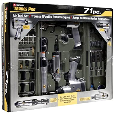 Tradespro 836668 Air Tools and Air Tool Accessories, 71-Piece