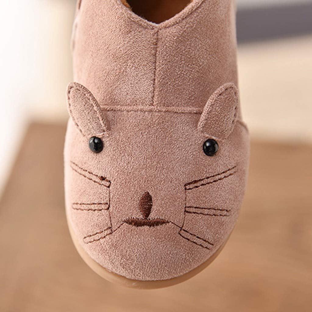 Children Kid Baby Girls Winter Warm Cat Cartoon Sport Short Boots Shoes Pandaie Baby Boy /& Girl Shoes