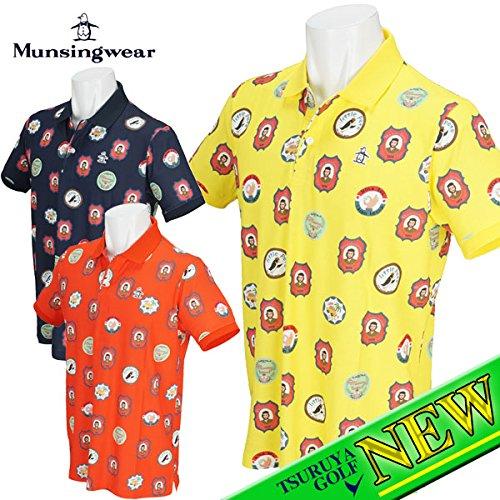 Munsing(マンシング) 半袖ポロシャツ MGMLGA12 ネイビー Lサイズ