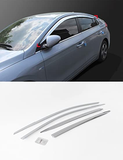 Amazon.com  AutomotiveApple D203 Chrome Window Sun Visor Vent For ... 31cf25fa83c