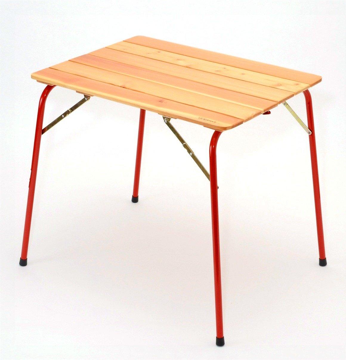 カステルメルリーノ(Castelmerlino) イタリア製 折りたたみ アウトドアテーブル S (80 X 60cm) No.46 B009EMWCOW