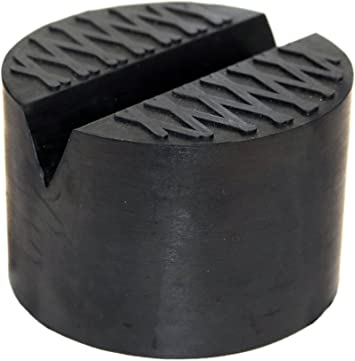 TMB Motorsports 1 Pack Extra Large Rubber Universal Floor Jack Pad Adapter