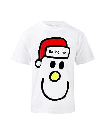 cb5941f53 Kids Festive Christmas T Shirt - Mr Christmas - Colour White - Size 1 To 2