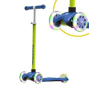 Amazon.com: Swagtron K5 Patinete de 3 ruedas con ruedas ...