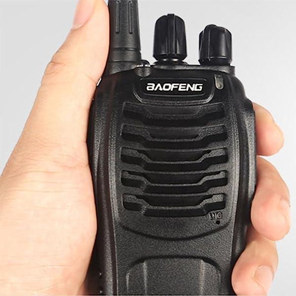 2X BAOFENG BF-888S WALKIE TALKIE DE LARGO ALCANCE 2 VÍAS 16CH 400-470 MHZ RADIO HAM RADIO UHF
