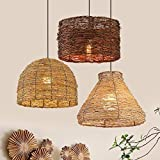 Arturesthome Rattan Knotted Pedant Chandelier