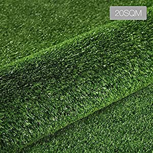 Artificial Grass Synthetic Turf 20 SQM Olive Plant Lawn Flooring 2X10M
