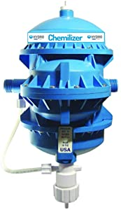 Be Cool Solutions Chemilizer Chemical Injector - Automatic Fertilizer and Chemical Dispenser - Powered by Water - Dosing Pump and Injector for Garden, Greenhouse, Poultry, Agriculture (CH9000-209)