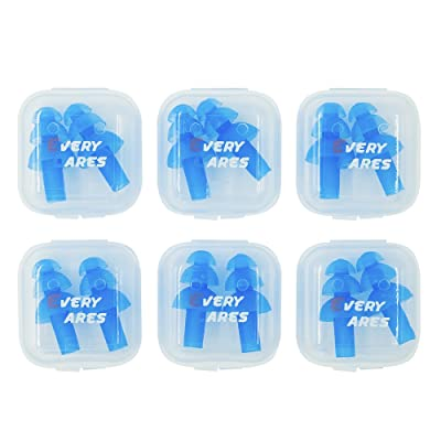 Every Cares Silicone Swimming Earplugs