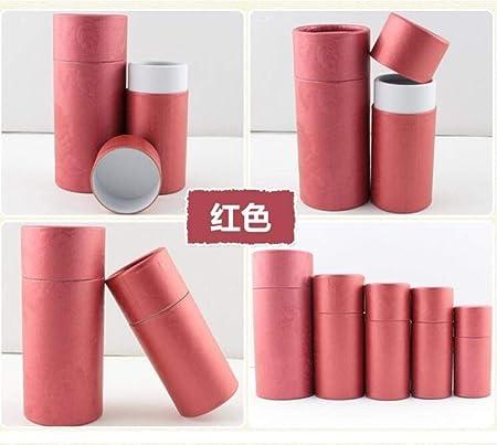 Caja de cartón para Botellas de Aceite Esencial, Caja de Regalo, 50 Unidades, 10 ml, 20 ml, 30 ml, 50 ml, 100 ml, Rojo, 50 ml: Amazon.es: Hogar