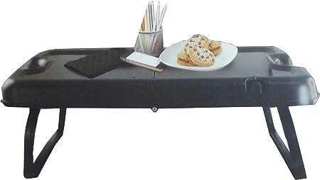 Volar Ideas - Mesa plegable negra/caja de almacenamiento ...