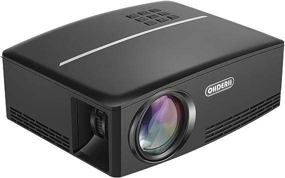 Amazon.com: Proyector, ohderii Z720 LED para proyector de ...