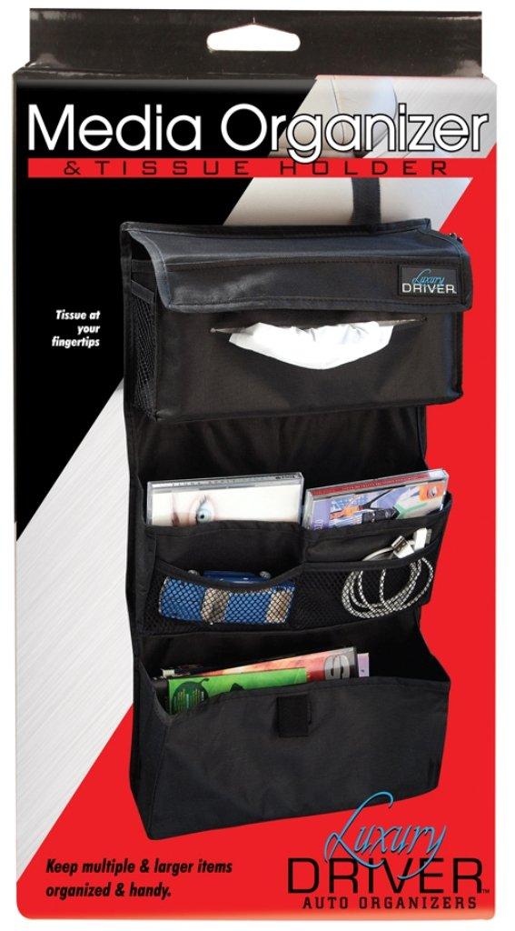 Impulse Merchandisers 12504 Media Organizer and Tissue Holder