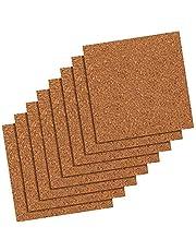 Quartet Cork Tiles, Natural, 12 Inch x 12 Inch, Frameless, 8 Count (108)