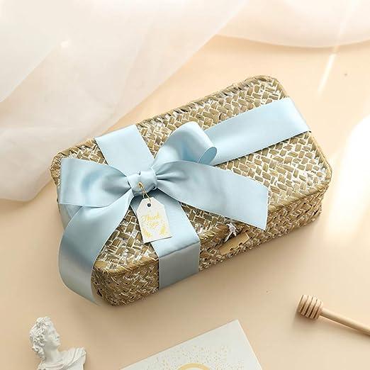 XYYBZH Navidad Caja de Regalo con la Mano del Regalo Mujer Dama de ...