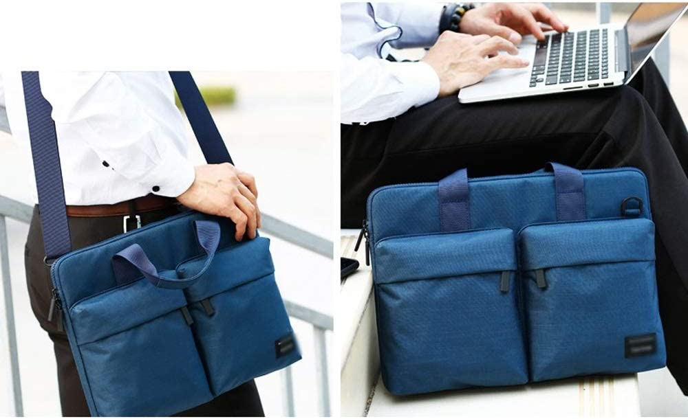 Large Capacity Multi-Pocket Waterproof Men and Women Shoulder Portable Fashion Portable Business Leisure Travel Briefcase Notebook Backpack Color : A, Size : 11 inches ZWJJQBJBB Laptop Bag