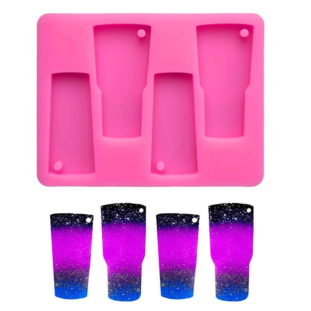 4-Cavity Tumbler Silicone Mold, Perfect Partner