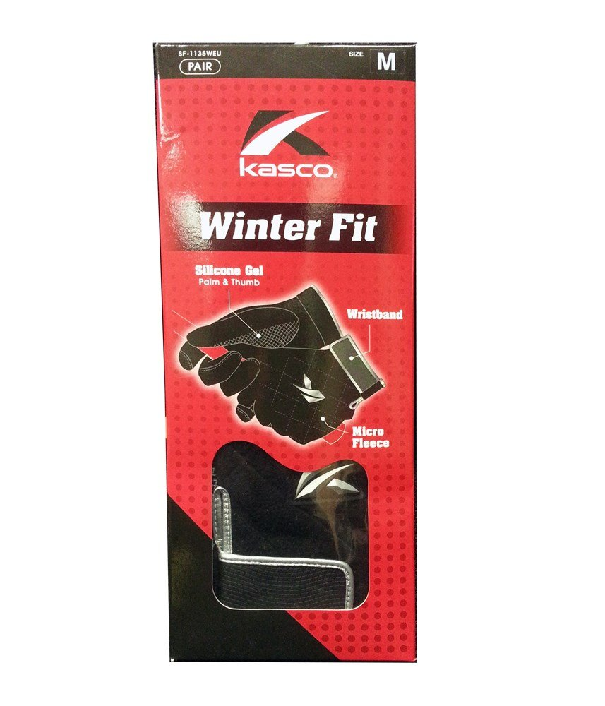 A Pair of Kasco Winter Fit Golf Gloves. Men's Size Small by Kasco (Image #1)