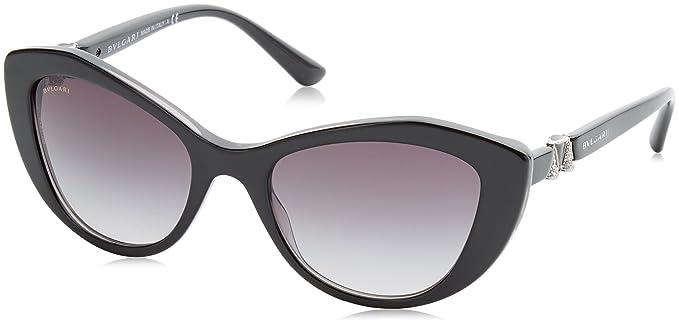 Bvlgari 8129, Gafas de Sol Unisex-Adulto, Dark Red Havana ...