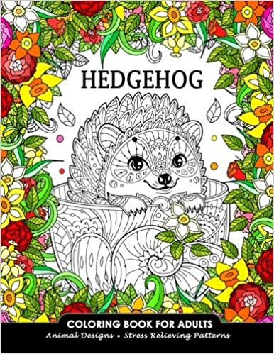 65+ Hedgehog Coloring Book For Adults Free Images