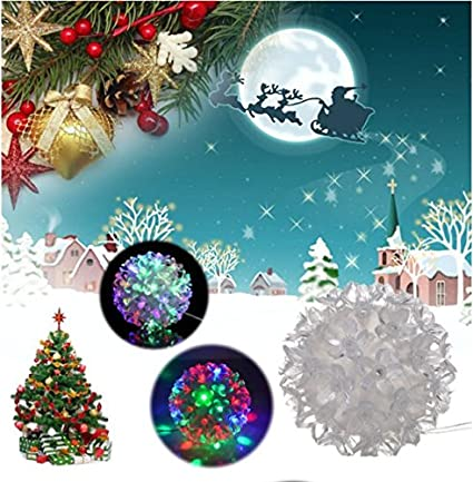 led fiber optic christmas decoration night light lamp tree for kids gift